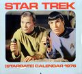 Star Trek Calendar (1975-Present Pocket Books/Andrews McMeel) The Original Series YR-1976