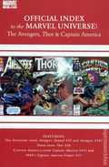 Official Index Marvel Universe Avengers Thor Capt. America 12