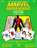 Marvel Super Heroes RPG: Fault Line (1985 TSR) Official Game Adventure 6866-1ST
