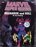 Marvel Super Heroes RPG: Ragnarok and Roll (1988 TSR) Official Advanced Game Accessory 6880-1ST