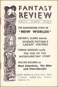 Fantasy Review (1947) UK fanzine 13