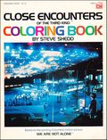 Close Encounters of the Third Kind Coloring Book SC (1978 Grosset & Dunlap) 1-1ST