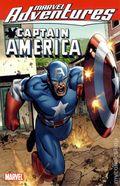 Marvel Adventures Avengers Captain America TPB (2011 Marvel Digest) 1-1ST