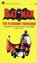 Batman vs. The Fearsome Foursome PB (1967 Four Square Novel) 1-1ST