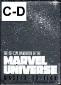 Official Handbook of the Marvel Universe (1994 Marvel) Master Edition SET-C-D