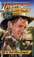 Indiana Jones and the Seven Veils PB (1991 Bantam Novel) 1-REP