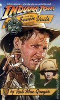 Indiana Jones and the Seven Veils PB (1991 Bantam Novel) 1-1ST