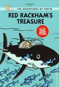 Adventures of Tintin Red Rackham's Treasure GN (2011 LBC) Young Reader's Edition 1-1ST