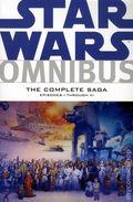 Star Wars Omnibus Episodes I-VI The Complete Saga TPB (2011) 1-1ST