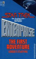 Star Trek Enterprise The First Adventure PB (1986 Pocket Novel) 1-REP