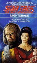 Star Trek The Next Generation Nightshade PB (1992 Pocket Novel) 1st Edition 1-1ST