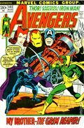 Avengers (1963 1st Series) National Diamond 102NDS