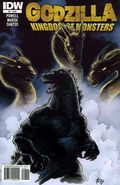 Godzilla Kingdom of Monsters (2011 IDW) 8A