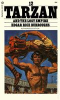 Tarzan PB (1963-1964 Ballantine Novel) The Famous Tarzan Series 12-REP