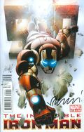 Invincible Iron Man (2008) 500DF.SIGNED