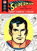 Superman Giant Comics to Color (1975) Whitman 1664