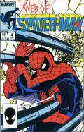 Web of Spider-Man (1985 1st Series) Mark Jewelers 4MJ
