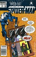 Web of Spider-Man (1985 1st Series) Mark Jewelers 12MJ