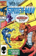 Web of Spider-Man (1985 1st Series) Mark Jewelers 19MJ