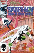 Web of Spider-Man (1985 1st Series) Mark Jewelers 23MJ