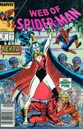 Web of Spider-Man (1985 1st Series) Mark Jewelers 46MJ