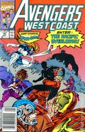 Avengers West Coast (1985) Mark Jewelers 70MJ