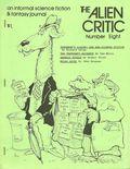 Alien Critic (1971) Fanzine 8