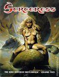Sorceress The Mike Hoffman Sketchbook SC (1999-2000 SQP) 2-1ST