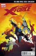 Uncanny X-Force (2010 Marvel) 18A.U
