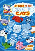 DC Super-Pets Attack of the Invisible Cats SC (2012 DC Digest) 1-1ST