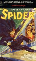 Spider Master of Men PB (1991 Novel) Carroll and Graf Edition 2-1ST