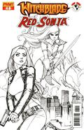 Witchblade Red Sonja (2012 Dynamite) 1B