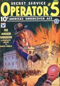 Operator #5 (1934-1939 Popular Publications) Pulp Vol. 1 #1
