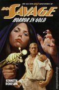 Doc Savage Horror in Gold SC (2011 Novel) The All-New Wild Adventures 1-1ST