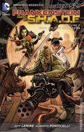 Frankenstein Agent of S.H.A.D.E. TPB (2012-2013 DC Comics The New 52) 1-1ST
