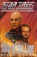 Star Trek The Next Generation Ship of the Line HC (1997 Novel) 1-1ST