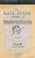 Raye Burns Course of Cartooning (1932) 2-REP