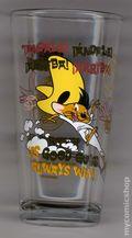 Toon Tumblers Looney Tunes Pint Glasses (2012 PopFun) TTLT009