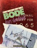 Vaughn Bode Diary Sketchbook SC (1990-1991 Fantagraphics) 1-1ST