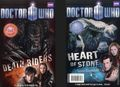 Doctor Who 2 New Adventures SC (2011 BBC) 2-in-1 Book: Death Riders/Heart of Stone 1-1ST