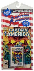 Captain America Book and Cassette (1990 Shan-Lon MPI) 326