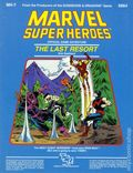 Marvel Super Heroes RPG: The Last Resort (1985 TSR) Official Game Adventure 6864-1ST