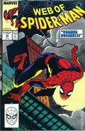 Web of Spider-Man (1985 1st Series) Mark Jewelers 49MJ