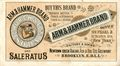 Arm and Hammer Advertisement Booklet (circa 1800s) 0