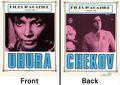 Files Magazine Focus on the Star Trek Crew: Uhura and Chekov SC (1987 Flipbook) 1-1ST
