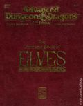 Advanced Dungeons and Dragons The Complete Book of Elves SC (1993 TSR) 1-1ST