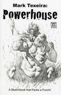 Mark Texeira Powerhouse SC (2012) A Sketchbook that Packs a Punch! 1A-1ST