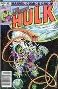 Incredible Hulk (1962-1999 1st Series) Mark Jewelers 281MJ