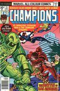 Champions (1975-1978 Marvel 1st Series) UK Edition 9UK