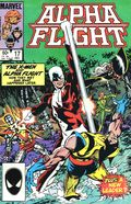 Alpha Flight (1983 1st Series) Mark Jewelers 17MJ